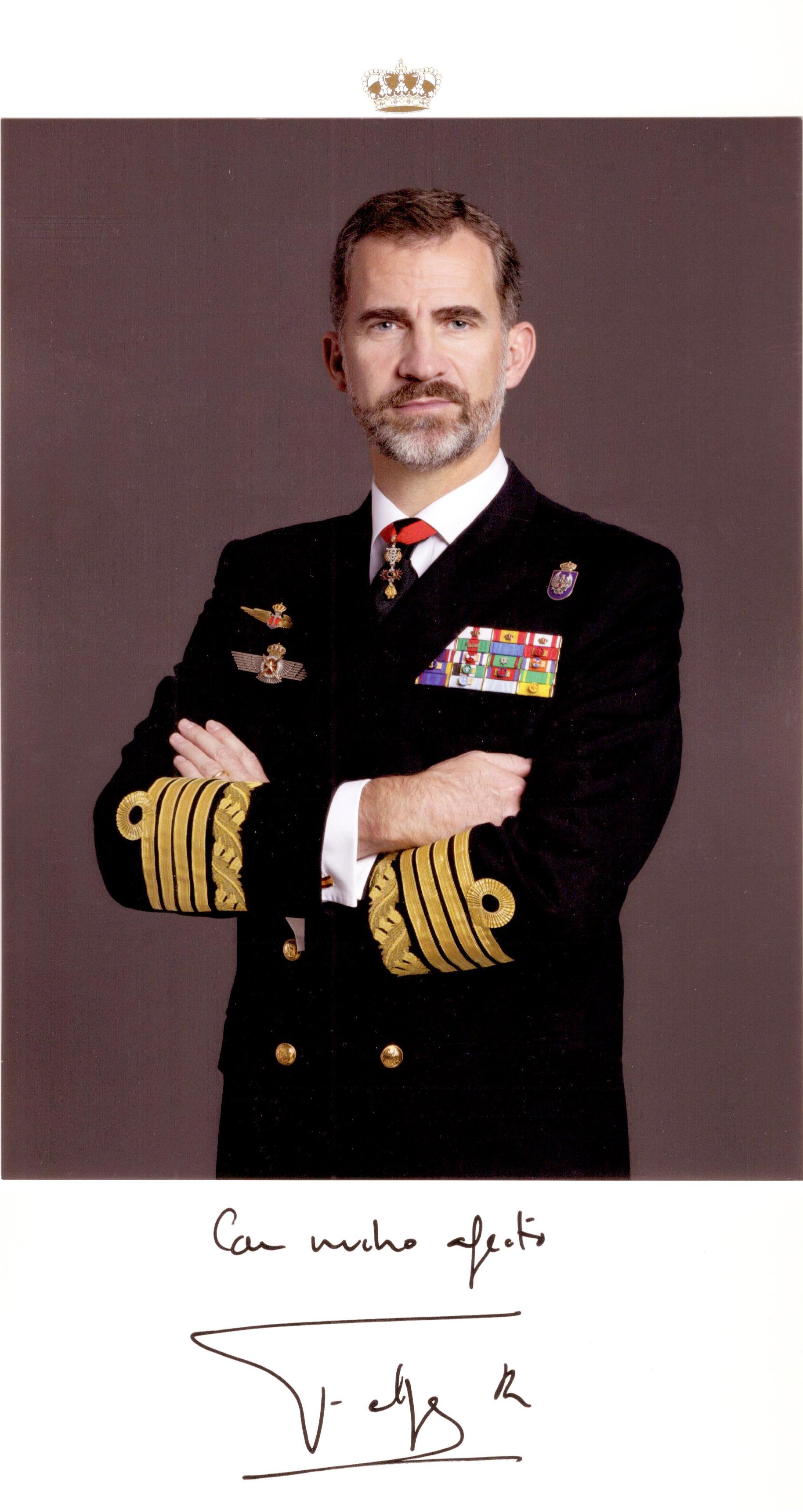 Su Majestad el Rey Felipe VI