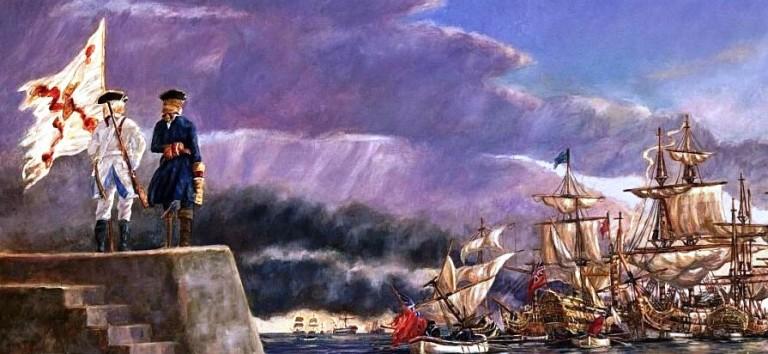 La batalla de Cartagena de Indias empezó tal día como hoy (13 de marzo) pero en el año 1741 y está dentro de la Guerra del Asiento o Guerra de la Oreja de Jenkins.